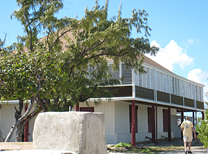 Sunny Side - Salt merchant house from 1830's on Salt Cay - photo by Robin Savory
