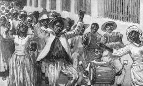 Emancipation of slavery 1834, although it came a little later in the Turks and Caicos Islands