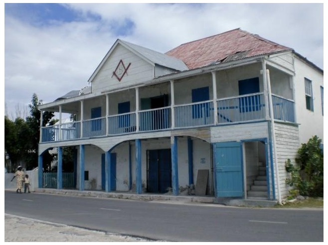 Masonic Lodge Grand Turk