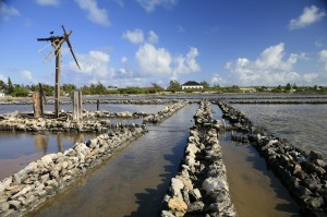 What remains of the Windmill and sluices on Salt Cay photo by Candy Herwin
