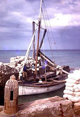 hter boats of Salt Cay that carried salt out to Merchant ships at anchor in the harbour